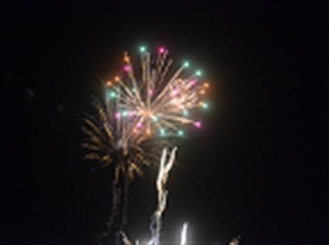 Fireworks NYE new years eve