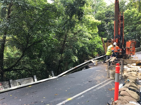 Jamberoo Mountain Road Geotechnical Investigations